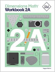 Dimensions Math  2A Workbook