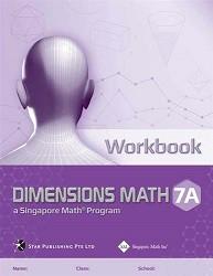 Dimensions Math  7A Workbook