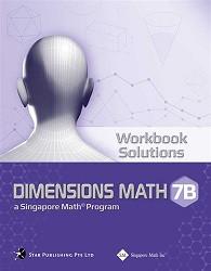 Dimensions Math  7B Workbook