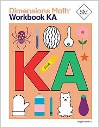 Dimensions  Math Kindergarten A Workbook