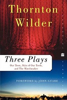70% Off Sale - Three Plays: Our Town, The Skin of Our Teeth, and The Matchmaker