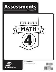 Math 4  Assessments (4th Ed.)