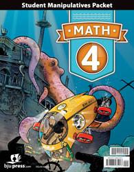 Math 4  Manipulatives Packet  4th Edition