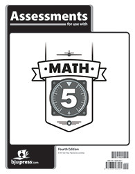 Math 5  Assessments  4th Edition