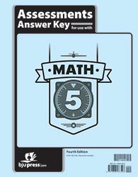 Math 5  Assessments  Answer Key