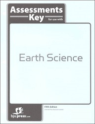 Earth Science  Assessments Answer Key (5th edition)
