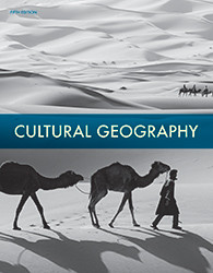Cultural Geography  Student Textbook  5th Edition