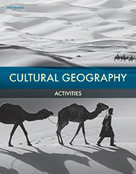 Cultural Geography  Student Activities Manual  5th Edition