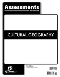 Cultural Geography  Assessments  5th Edition