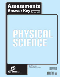 Physical  Science  Assessments Answer Key  6th Edition