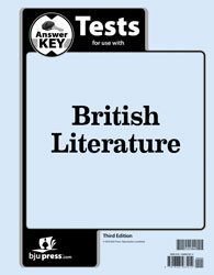 British Literature Tests Answer Key (3rd ed.)