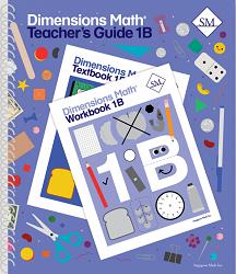 Dimensions Math  1B Teacher's Guide