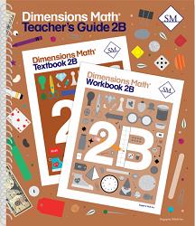 Dimensions Math  2B Teacher's Guide