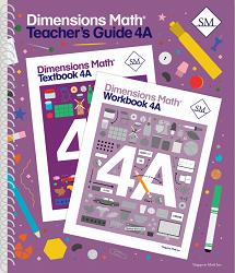 Dimensions Math  4A Teacher's Guide