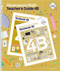 Dimensions Math  4B Teacher's Guide