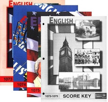 School of Tomorrow / ACE English Grade 7 First Quarter 1073-1075 w/Key
