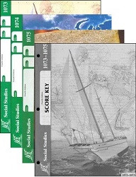 School of Tomorrow / ACE Social Studies Grade 7 First Quarter 1073-1075 w/Key (4th Edition)