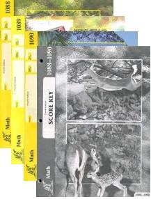 School of Tomorrow / ACE Math Grade 8 Second Quarter 1088-1090 w/Key (4th Edition)