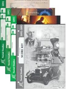 School of Tomorrow / ACE Social Studies Grade 8 Third Quarter 1091-1093 w/Key (4th Edition)