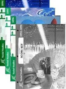 School of Tomorrow / ACE Social Studies Grade 8 Fourth Quarter 1094-1096 w/Key (4th Edition)