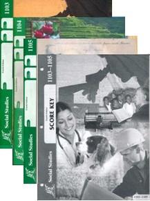 School of Tomorrow / ACE Social Studies Grade 9 Third Quarter 1103-1105 w/Key (4th Edition)