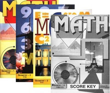 School of Tomorrow / ACE Math Grade 10 First Quarter 1109-1111 w/Key