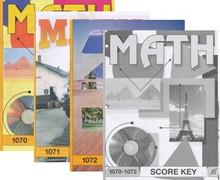 School of Tomorrow / ACE Math Grade 6 Fourth Quarter 1070-1072 w/Key