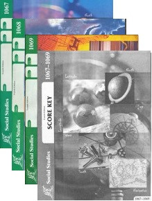 School of Tomorrow / ACE Social Studies Grade 6 Third Quarter 1067-1069 w/Key (4th Edition)