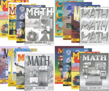 School of Tomorrow / ACE Math Grade 5 #1049 - 1060 With Keys
