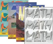 School of Tomorrow / ACE Math Grade 5 Second Quarter 1052-1054 w/Key