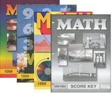 School of Tomorrow / ACE Math Grade 5 Fourth Quarter 1058-1060 w/Key