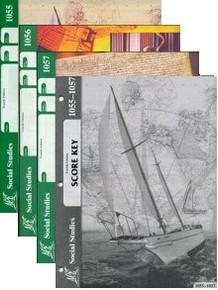 School of Tomorrow / ACE Social Studies Grade 5 Third Quarter 1055-1057 w/Key (4th Edition)