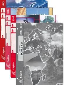 School of Tomorrow / ACE English Grade 4 Third Quarter 1043-1045 w/Key (4th Edition)