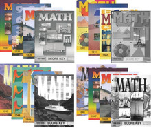 School of Tomorrow / ACE Math Grade 4 #1037 - 1048 With Keys