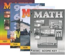 School of Tomorrow / ACE Math Grade 4 First Quarter 1037-1039 w/Key