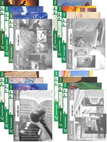 School of Tomorrow / ACE Social Studies Grade 4 #1037 - 1048 With Keys (4th Edition)