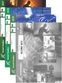 School of Tomorrow / ACE Social Studies Grade 4 First Quarter 1037-1039 w/Key (4th Edition)