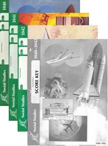School of Tomorrow / ACE Social Studies Grade 4 Second Quarter 1040-1042 w/Key (4th Edition)