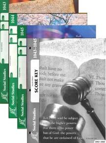 School of Tomorrow / ACE Social Studies Grade 4 Third Quarter 1043-1045 w/Key (4th Edition)