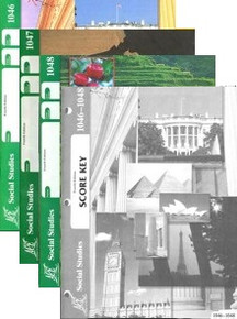School of Tomorrow / ACE Social Studies Grade 4 Fourth Quarter 1046-1048 w/Key (4th Edition)
