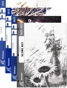 School of Tomorrow / ACE Science Grade 3 Third Quarter 1031-1033 w/Key (4th Edition)