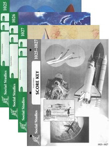 School of Tomorrow / ACE Social Studies Grade 3 First Quarter 1025-1027 w/Key (4th Edition)