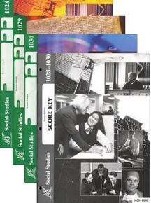 School of Tomorrow / ACE Social Studies Grade 3 Second Quarter 1028-1030 w/Key (4th Edition)