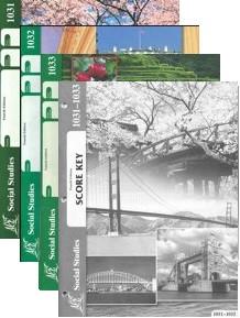 School of Tomorrow / ACE Social Studies Grade 3 Third Quarter 1031-1033 w/Key (4th Edition)