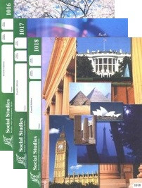 School of Tomorrow / ACE Social Studies Grade 2 Second Quarter 1016-1018 Paces Only (4th Edition)