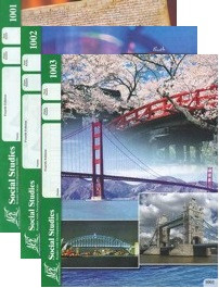 School of Tomorrow / ACE Social Studies Grade 1 First Quarter 1001-1003 Paces Only (4th Edition)