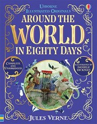 Around the World in Eighty Days (Illustrated Originals)