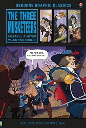Three Musketeers  (Usborne Graphic)