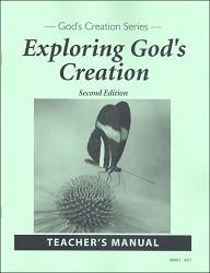 Exploring God's Creation Teacher's Manual 2nd Edition