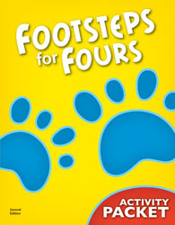 DCA - K4 Footsteps for Fours Student Activity Packet (2nd ed.)